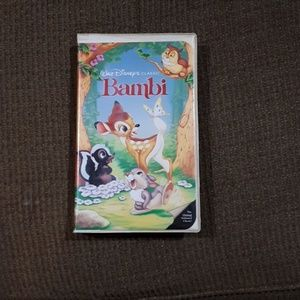 First release of bambi VHS